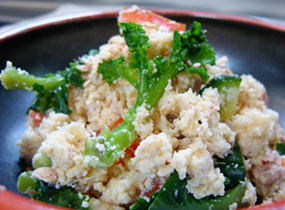 旬の野菜deおからサラダ